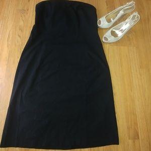 GAP Black Strapless Dress with Stretch. Size 16